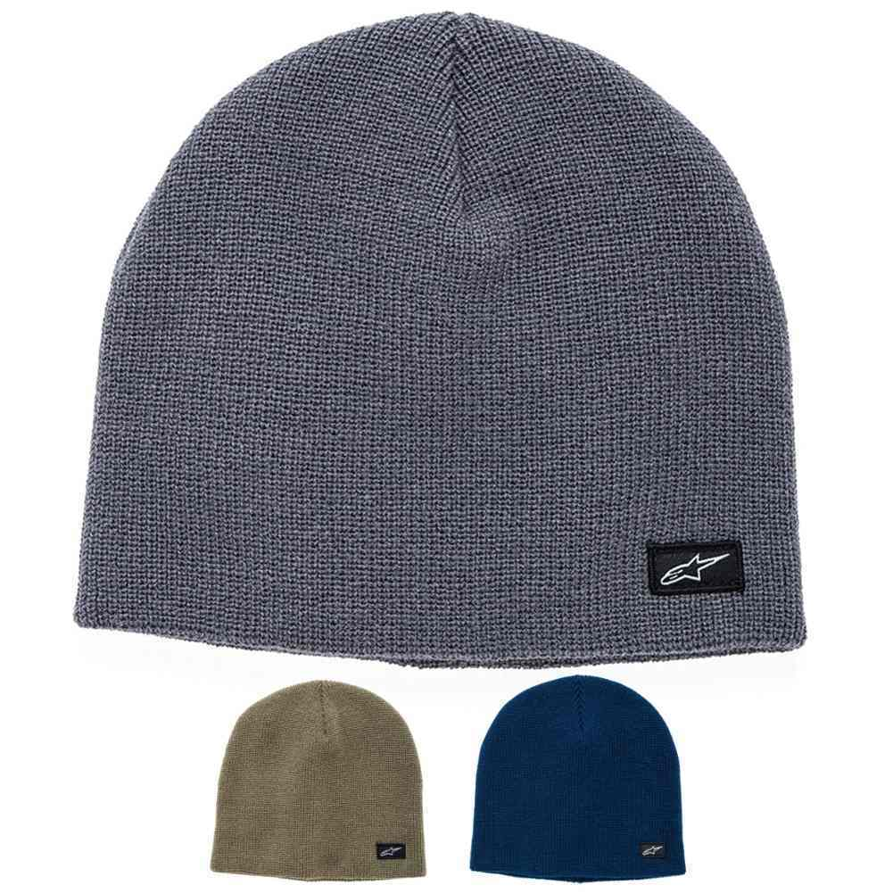 49092806fce Details about Alpinestars Purpose Mens Winter Hats Motorcycle Snow Knit  Beanies
