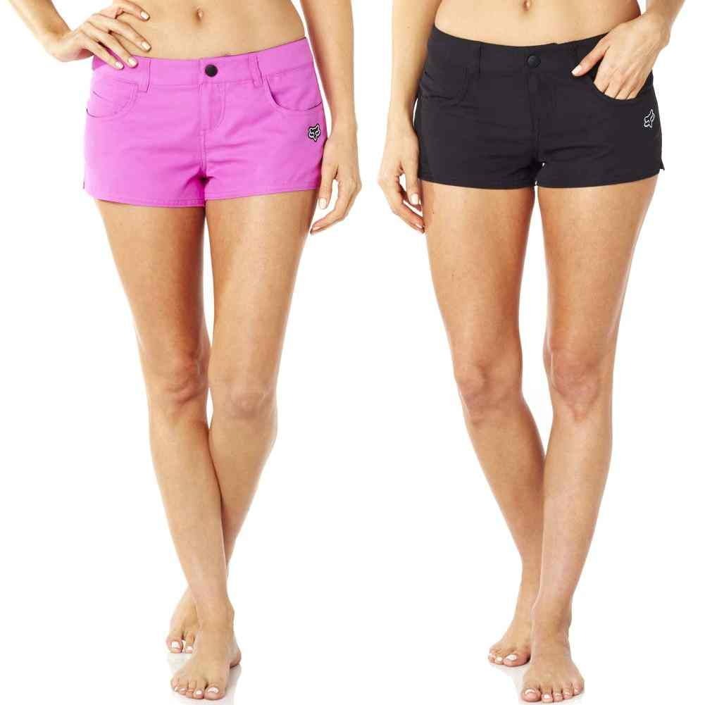 2db18d479cc9e Details about Fox Racing Vault Boating Skiing Surf Beach Womens Swim Shorts