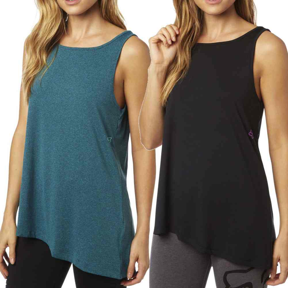 fc2dc694 Details about Fox Racing Integrate Sleeveless Motocross Off Road Womens Tank  Tops