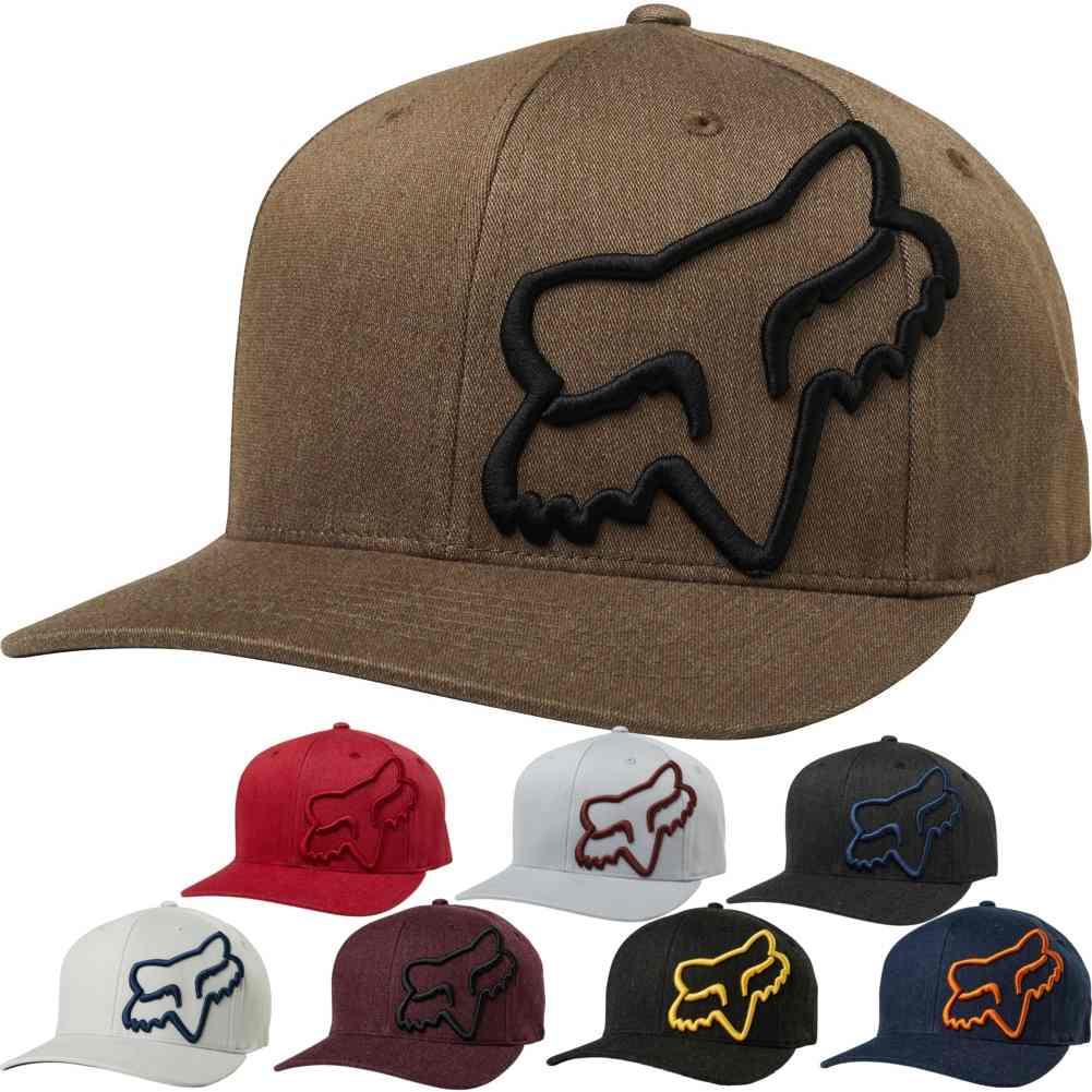 d1bf34f2ec376 Details about Fox Racing S18 Clouded Mens Caps Off Road Dirt Bike Motocross  Flexfit Hats