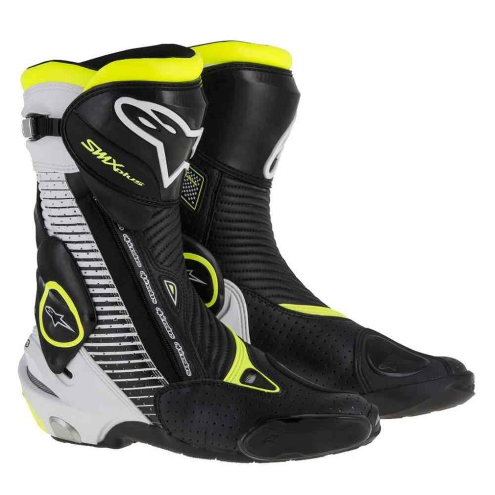alpinestars racing smx plus vented sport bike motorcycle street track boots ebay. Black Bedroom Furniture Sets. Home Design Ideas