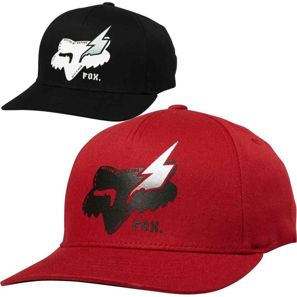 pretty nice bd1f7 d28d3 Details about Fox Racing Hellion 110 Youth Boys Caps Motocross Off Road Snapback  Hats