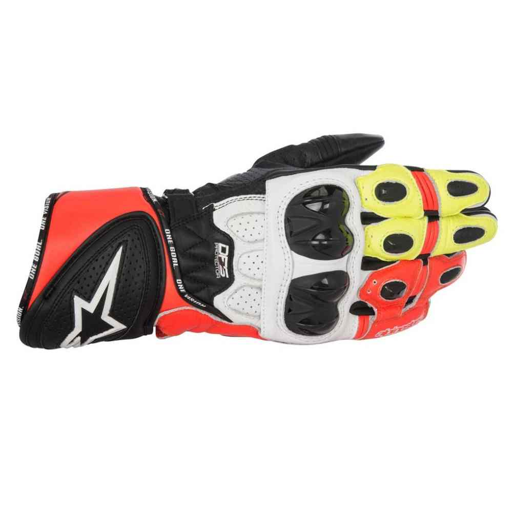 alpinestars racing gp plus r mens leather motorcycle sport bike street gloves ebay. Black Bedroom Furniture Sets. Home Design Ideas