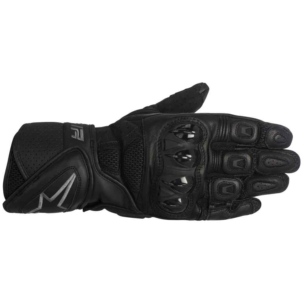 Mens black leather gloves xl -  Picture 4 Of 6