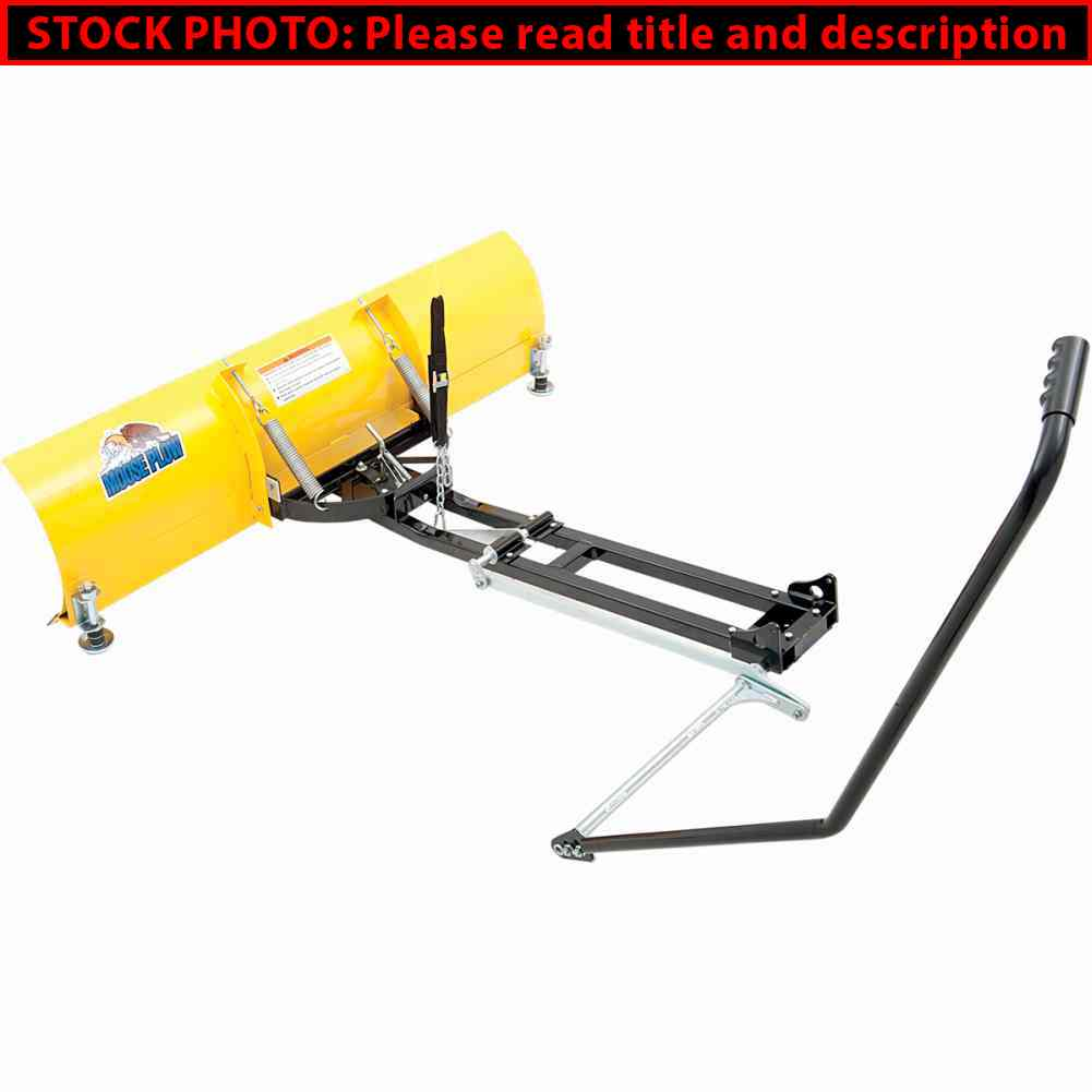 Used Forklift Snow Blades : Moose utility snow manual lift for plows