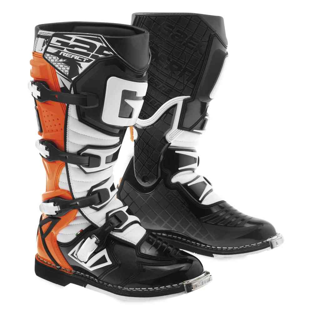 Gaerne G React Mens Off Road Dirt Bike Racing Motocross Boots Ebay