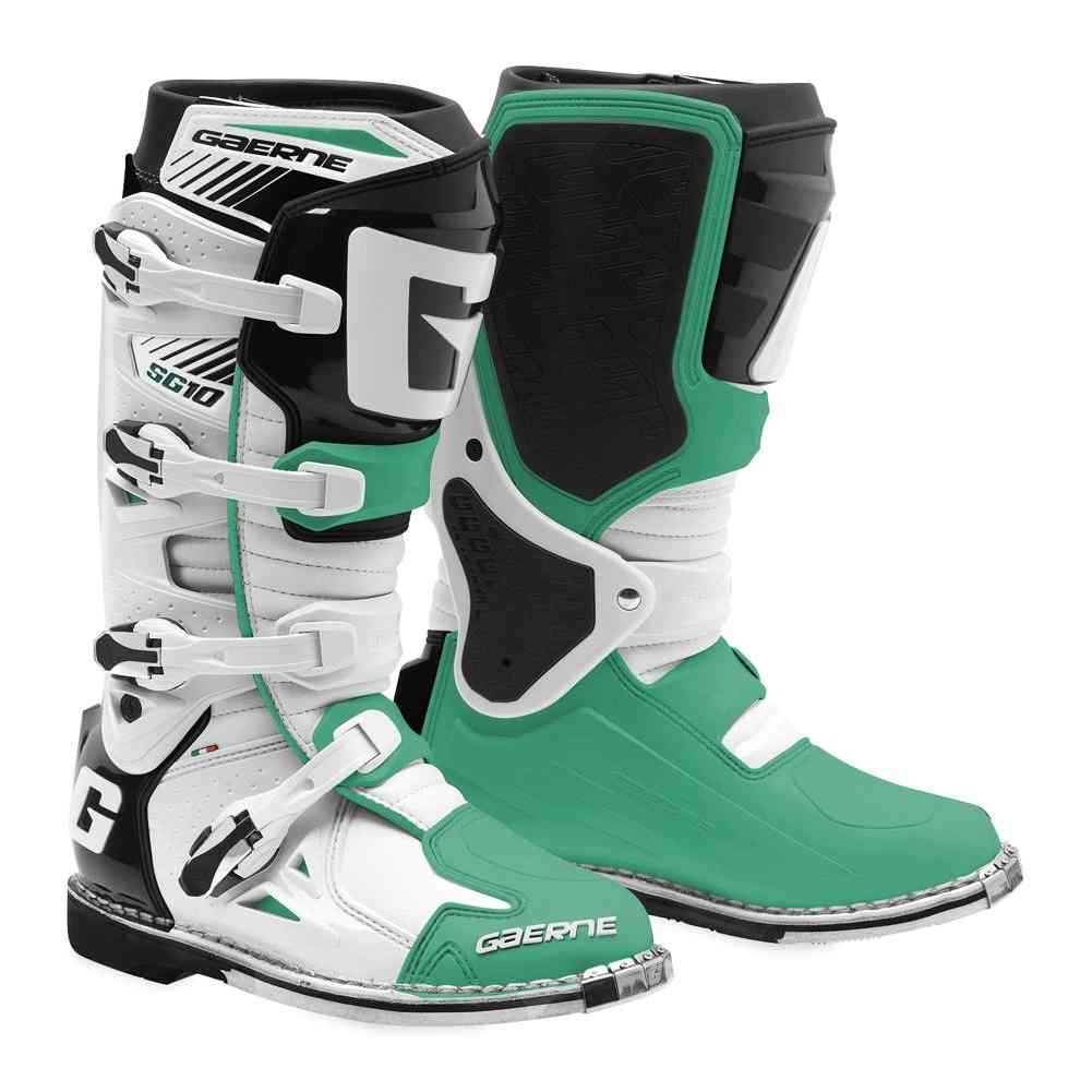 Gaerne Sg 10 Mens Off Road Dirt Bike Racing Motocross Boots Ebay