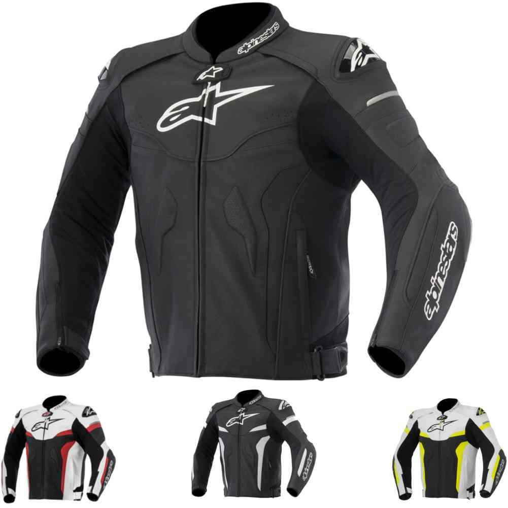 Alpinestars Motorcycle Jacket >> Alpinestars Celer Leather Street Sport Bike Mens Moto Riding