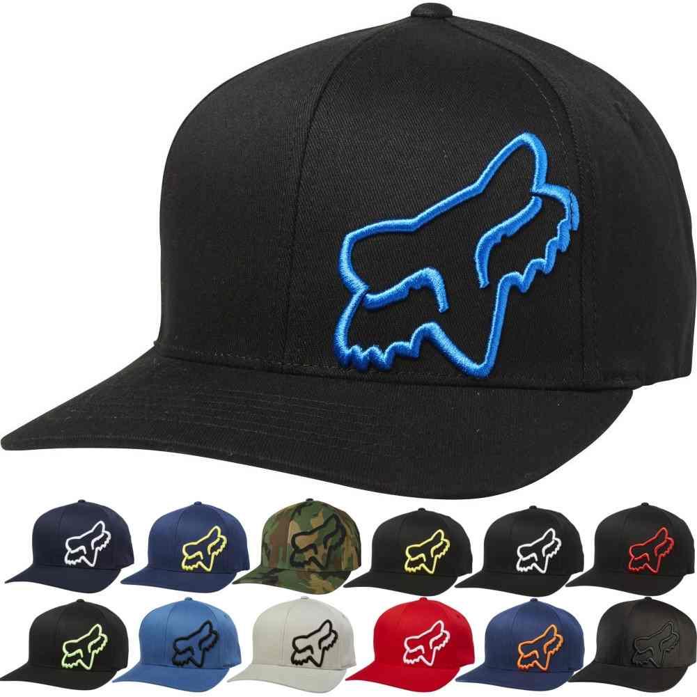 487bb000a584e Details about Fox Racing Mens Flex 45 Legacy Flexfit Fitted Cap MX  Motocross Moto Hat
