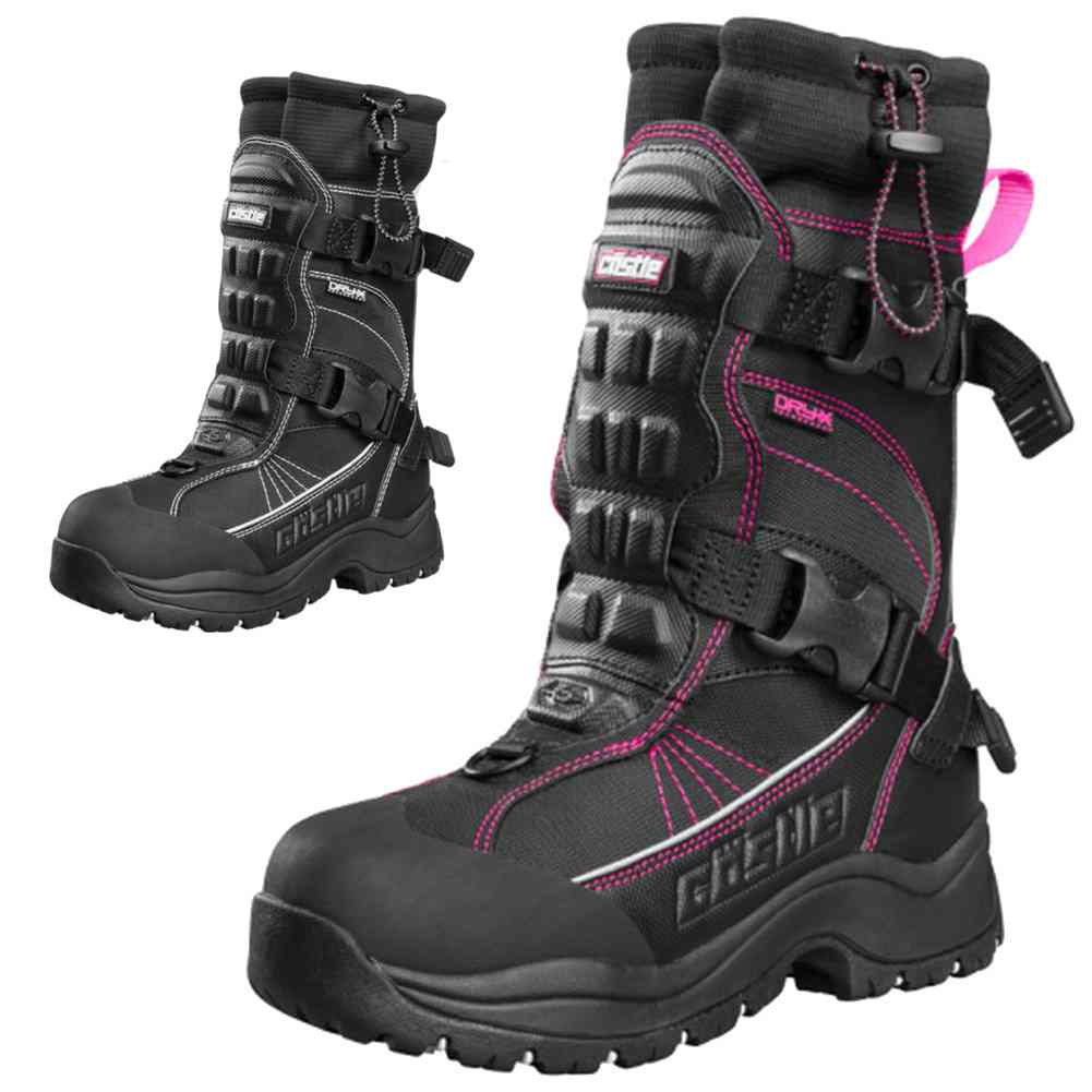 Details about Castle Barrier 2 Womens Ladies Snowmobile Mens Snow Winter  Cold Weather Boot 10c14ac820