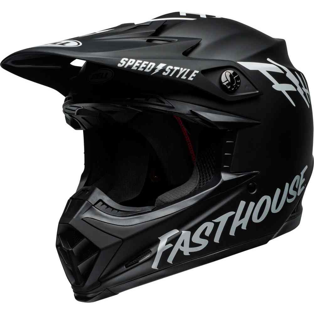 9cd43e654d256 Details about Bell Moto-9 Mips Fasthouse Mens Motocross Off Road Riding DOT  Helmets