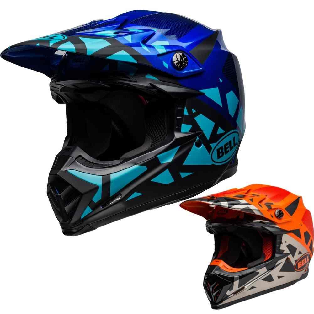f7b4efa3f0a8c Details about Bell Moto-9 Mips Tremor Mens Motocross Off Road Riding DOT  Helmets