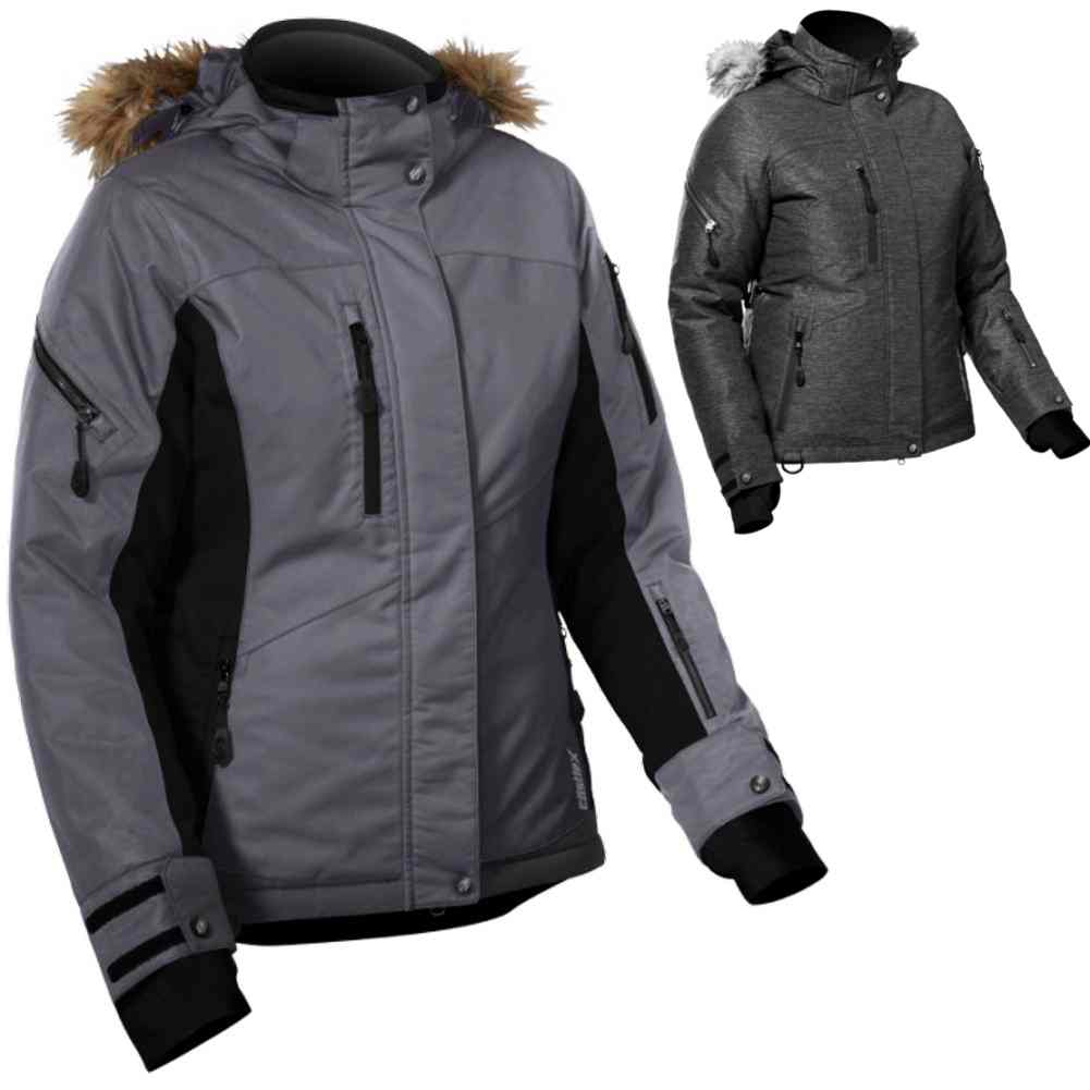 92d02068df5 Details about Castle X Tempest Back Country Plus Size Womens Snowmobile  Snow Coat Jackets