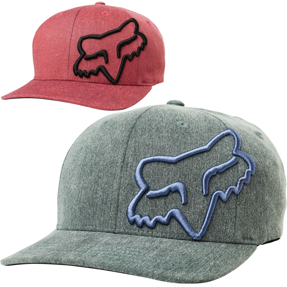cheap for discount d88a4 b3156 Details about Fox Racing Clouded Youth Caps Kids Motocross Flexfit Hats
