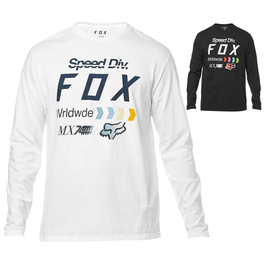 a886ce04b Details about Fox Racing Murc Mens Tee Motocross Off Road Long Sleeve T- Shirts