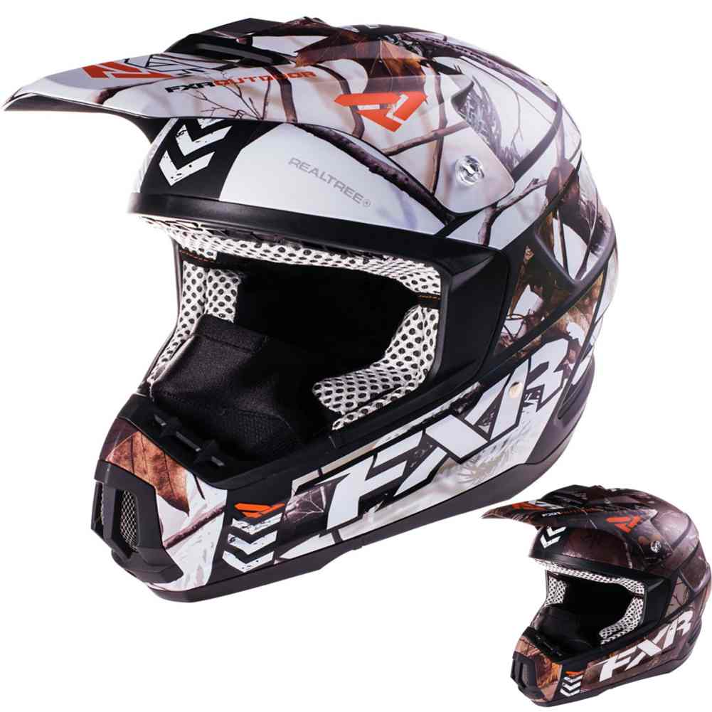 dc9d6fa07708 FXR Racing Torque Squadron Mens Sled Snowboard Snowmobile Helmets