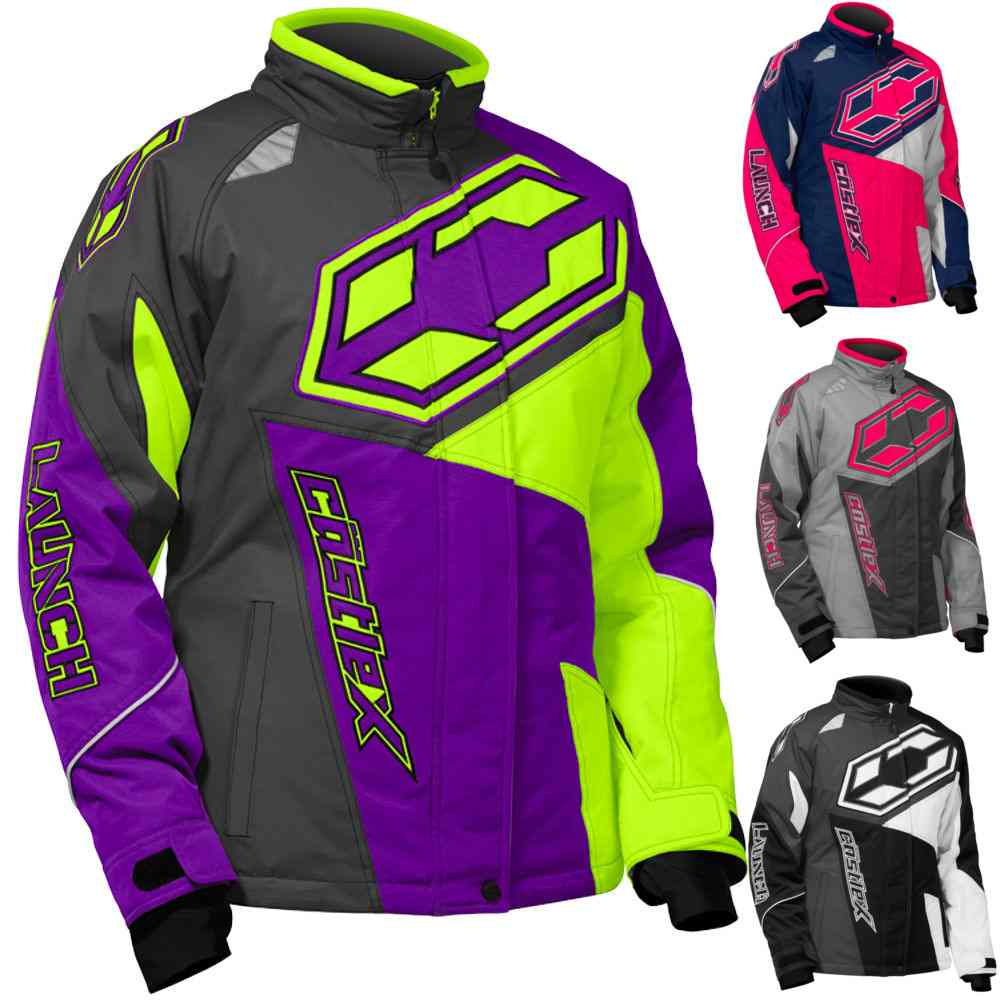 c2a670425 Castle X Launch SE G4 Youth Girls Snowmobile Sled Skiing Winter ...