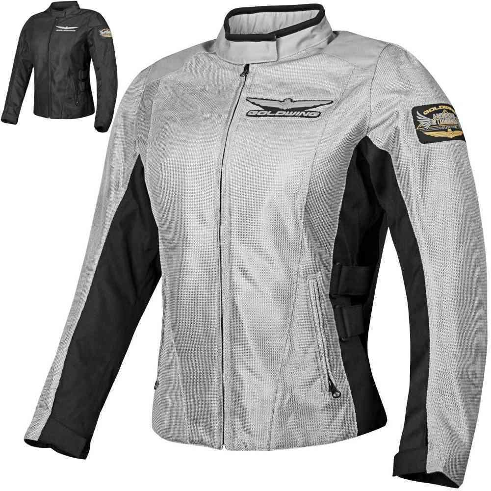 Details about Honda Goldwing Mesh Street Riding Protection Gear Women s  Motorcycle Jacket 1fb49963a2