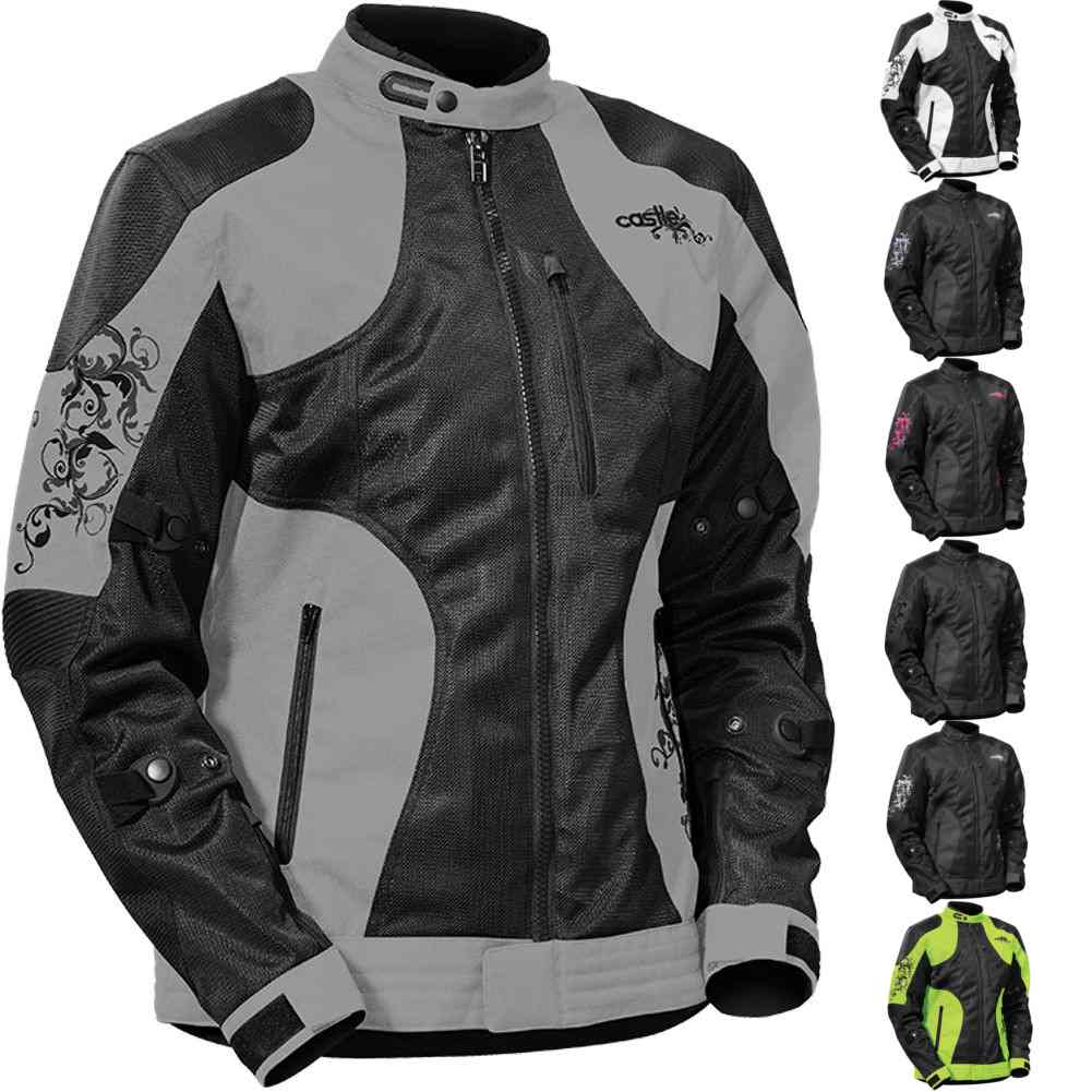 Details about Castle Prism Women s Street bike Protective Riding Motorcycle  Jackets 8daaac2170