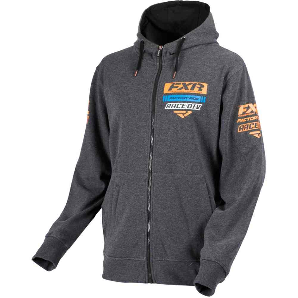 Fxr Race Division Mens Sweatshirts Hoody Jackets Full Zip