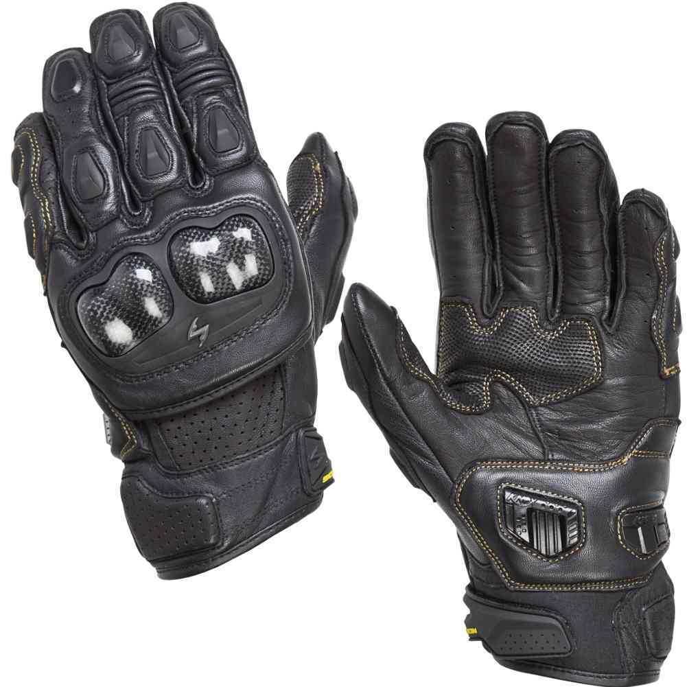 Motorcycle gloves large - Scorpion Sgs Mkii Short Leather Mens Street Cruising