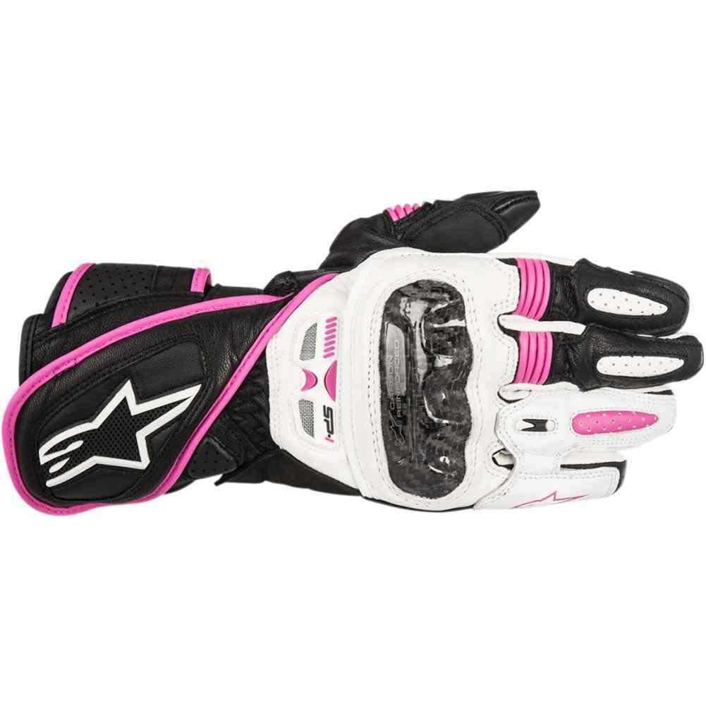Sport Motorcycle Gloves: Alpinestars Racing Stella SP-1 Womens Sport Street Leather