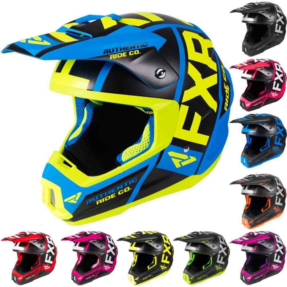Dirt Bike Snowmobile >> Fxr Racing F19 Torque Evo Mens Dot Dirt Bike Snocross Snowmobile
