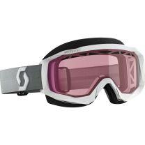 Scott Prospect Snow Cross Goggles Black//White w//Rose Lens