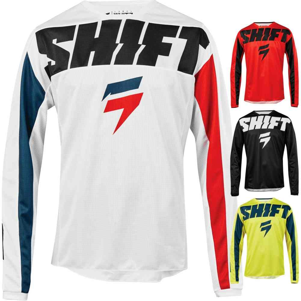 Shift Racing Whit3 Tarmac Mens Off-Road Motorcycle Jerseys