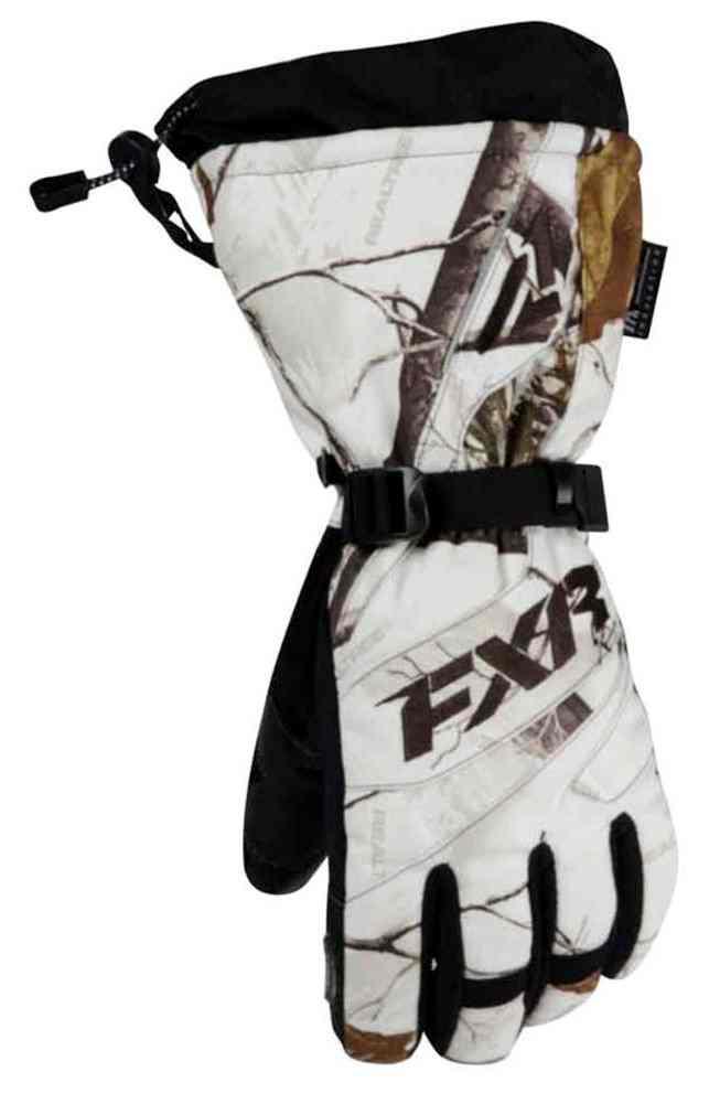 FXR Men/'s Short Cuff Fuel Gloves 300-grams Black Ops Orange or Hi-Vis White