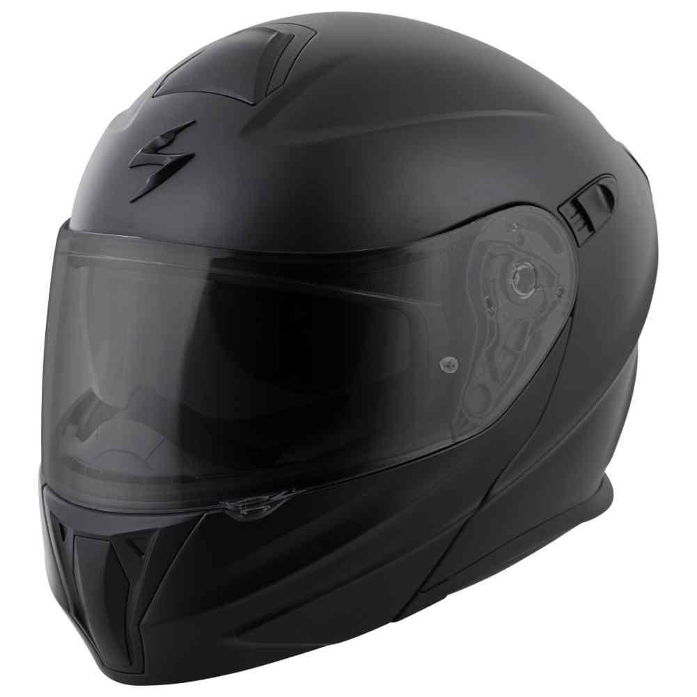 Scorpion-EXO-GT920-Solid-Mens-Street-DOT-Motorcycle-Helmets miniature 5